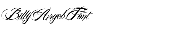 Fonte Billy Argel Font