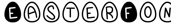 EasterFont St font preview