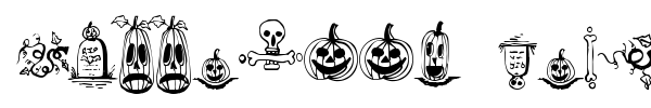 Fonte Halloween Borders
